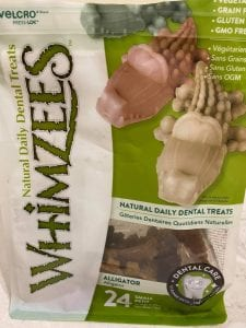 Whimzees natural dental dog chew | 1 Dog At a Time Rescue UK