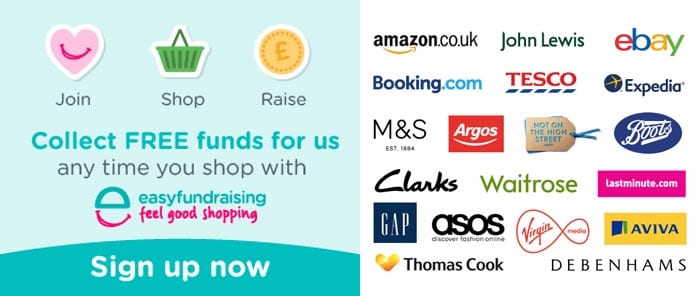 Easyfundraising | 1 Dog At a Time Rescue UK | Dedicated To Rescuing and Rehoming Romanian Street Dogs